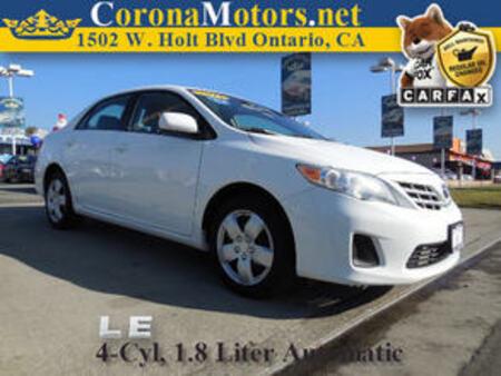 2013 Toyota Corolla LE for Sale  - 11167  - Corona Motors