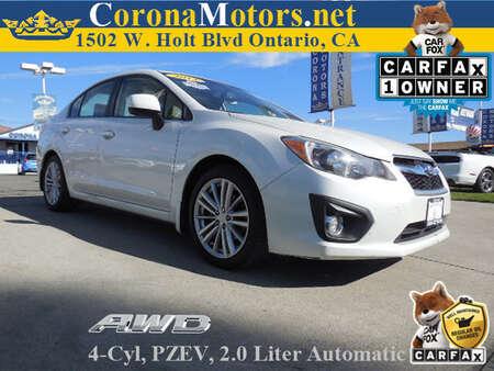 2013 Subaru Impreza Sedan Limited for Sale  - 11853  - Corona Motors