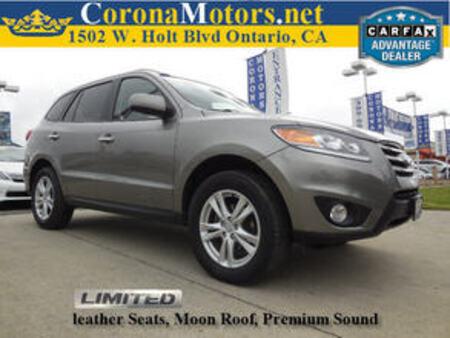 2012 Hyundai Santa Fe Limited for Sale  - 11674  - Corona Motors