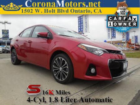 2014 Toyota Corolla S for Sale  - 11270  - Corona Motors