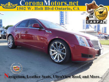 2008 Cadillac CTS RWD w/1SA for Sale  - 11662  - Corona Motors