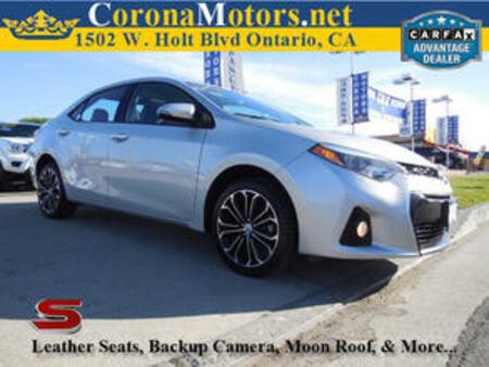 2014 Toyota Corolla S for Sale  - 11628  - Corona Motors