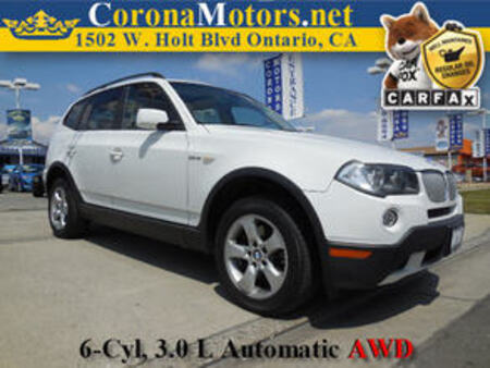 2007 BMW X3 3.0si for Sale  - 11279  - Corona Motors