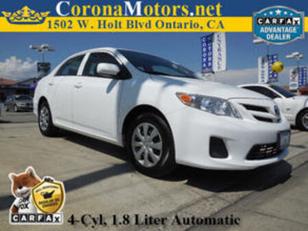 2013 Toyota Corolla L for Sale  - 11355  - Corona Motors