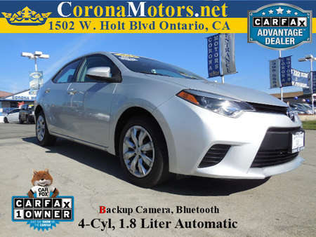 2014 Toyota Corolla LE for Sale  - 11861  - Corona Motors