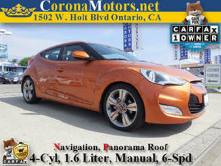 2012 Hyundai VELOSTER w/Gray Int for Sale  - 11230  - Corona Motors