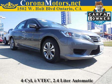 2014 Honda Accord Sedan LX for Sale  - 11791  - Corona Motors