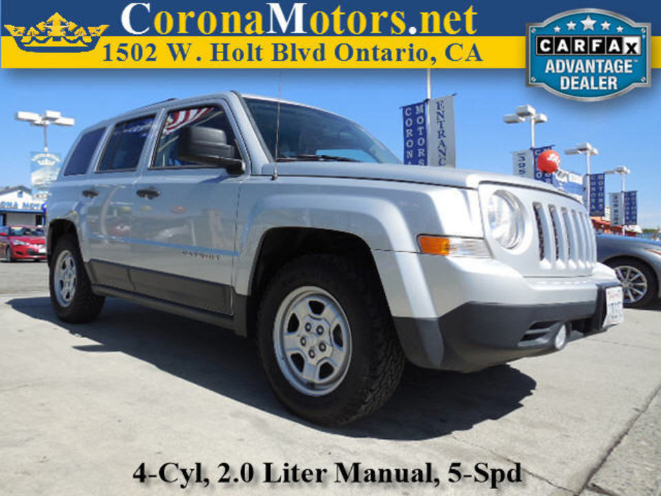 2014 Jeep Patriot  - Corona Motors