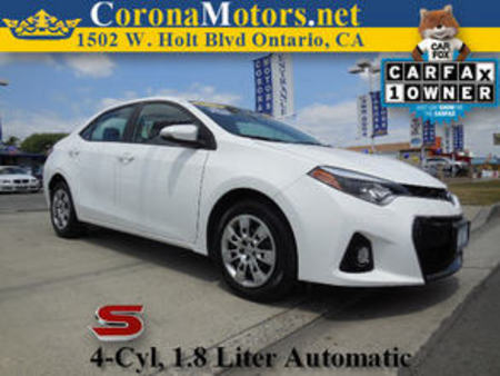 2014 Toyota Corolla S for Sale  - 11315  - Corona Motors