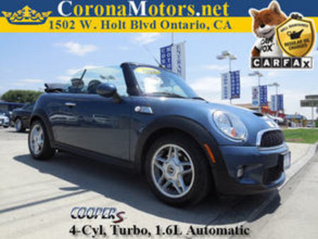2009 Mini Cooper Convertible S for Sale  - 11351  - Corona Motors
