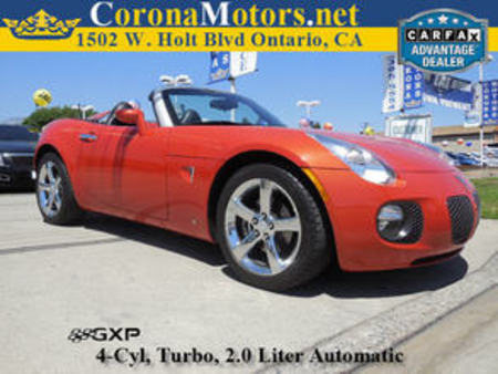 2008 Pontiac Solstice GXP for Sale  - 11685  - Corona Motors
