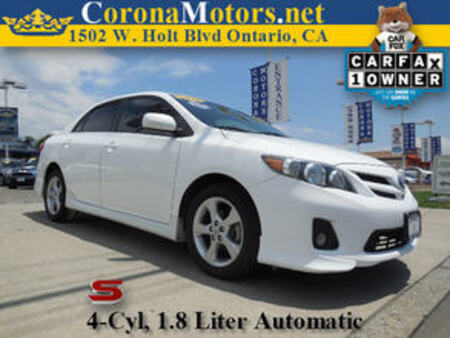2013 Toyota Corolla S Special Edition for Sale  - 11326  - Corona Motors
