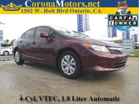 2012 Honda Civic LX for Sale  - 11555  - Corona Motors