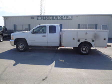 2007 Chevrolet Silvarado 3500 HD Extended Cab & Chassis Dually Diesel Utility for Sale  - 325  - West Side Auto Sales