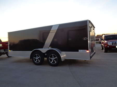 2018 Other Other 7 x 16 Flat Top V Nose Cargo Trailer for Sale  - 9000  - West Side Auto Sales