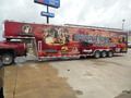 2008 Haul Mark Ind Enclosed 40' 5th wheel enclosed trailer  - 1822