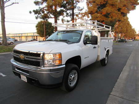 2011 Chevrolet Silverado 2500HD Work Truck/ utility bed for Sale  - 3551  - AZ Motors