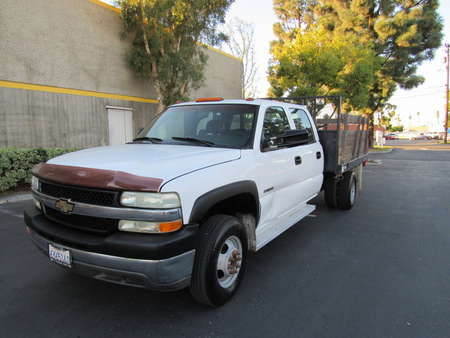 2002 Chevrolet Silvarado 3500 WORK TRUCK CREW CAB 9ft stack bed for Sale  - 1704  - AZ Motors
