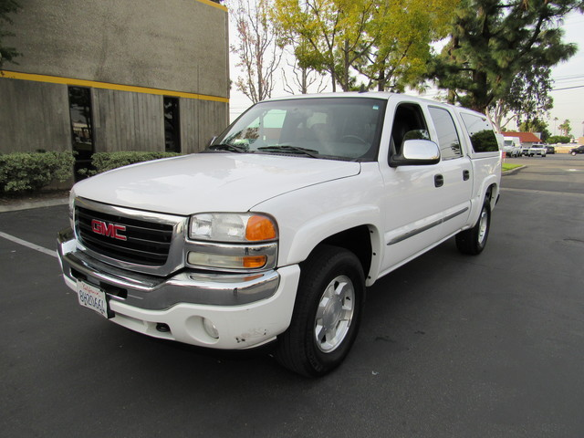 2006 gmc sierra 1500 crew cab 4wd slt stock 6544 orange ca 92867. Black Bedroom Furniture Sets. Home Design Ideas
