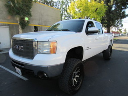 2008 GMC Sierra 2500HD SLT crew cab short bed 4wd lifted duramax for Sale  - 7703  - AZ Motors