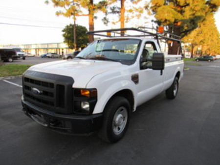 2009 Ford F-250 reg cab long bed lumber rack XL diesel 2wd for Sale  - 6250  - AZ Motors