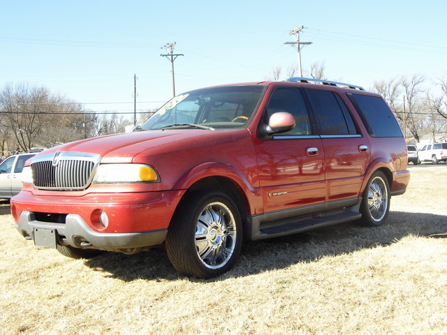 2001 Lincoln Navigator Stock 4251 Wichita Ks 67216