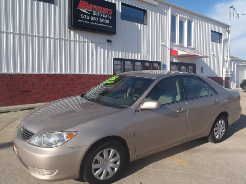 2005 Toyota Camry  - Martinson's Used Cars, LLC