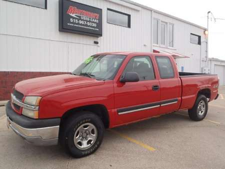2003 Chevrolet Silverado 1500  for Sale  - 103950  - Martinson's Used Cars, LLC