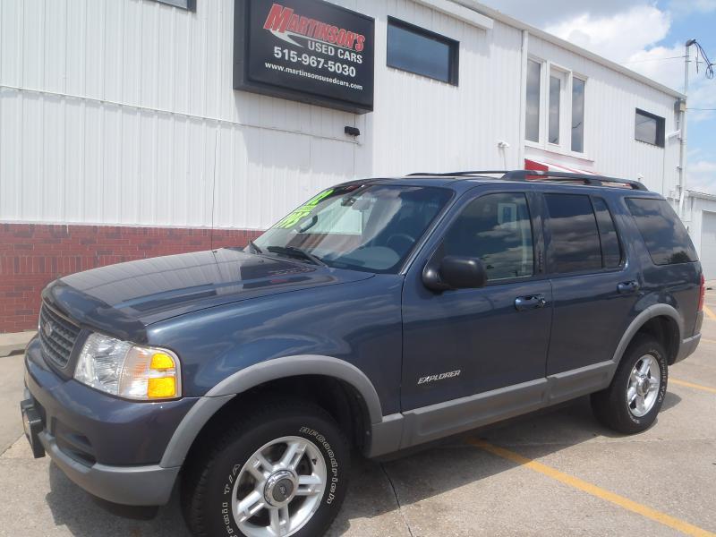 2002 Ford Explorer  - Martinson's Used Cars, LLC