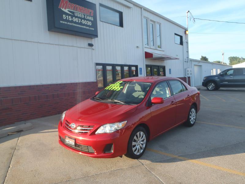 2013 Toyota Corolla  - Martinson's Used Cars, LLC