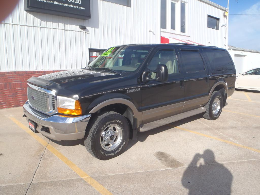 2001 Ford Excursion  - Martinson's Used Cars, LLC