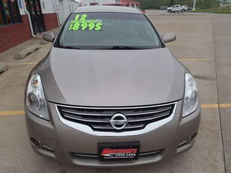 2012 Nissan Altima BASE for Sale  - 221242  - Martinson's Used Cars, LLC
