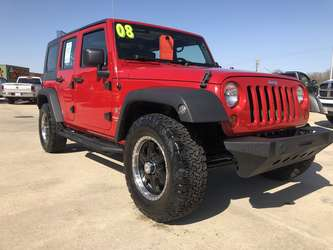 2008 Jeep Wrangler Unlimited Spor