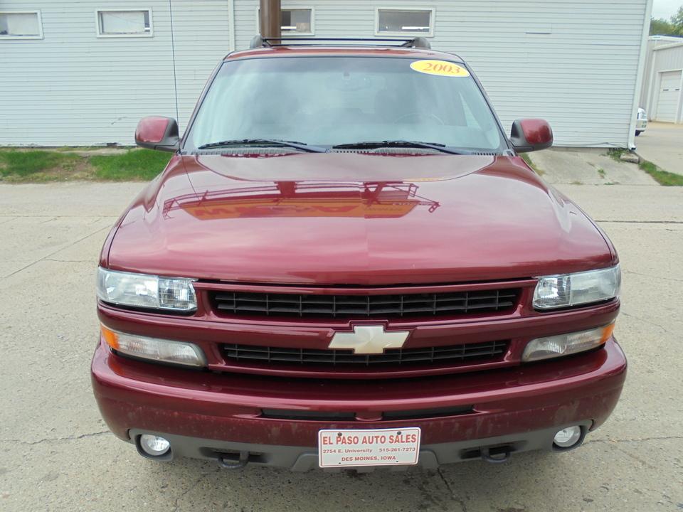 2003 Chevrolet Tahoe  - El Paso Auto Sales