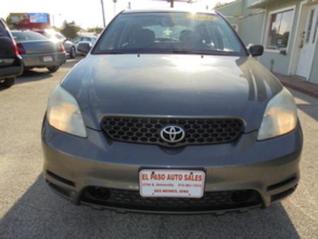 2004 Toyota Matrix Std for Sale  - 258462  - El Paso Auto Sales