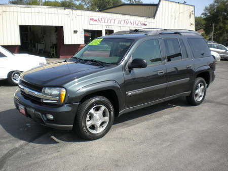 2004 Chevrolet TrailBlazer EXT. LS, 4X4 for Sale  - 9897  - Select Auto Sales
