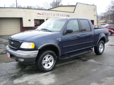 2002 Ford F-150 XLT Super Crew 4X4 FX-4 Off Road for Sale  - 9982  - Select Auto Sales