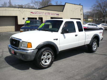 2004 Ford Ranger Super Cab XLT FX4 Off Road 4X4 for Sale  - 9942A  - Select Auto Sales