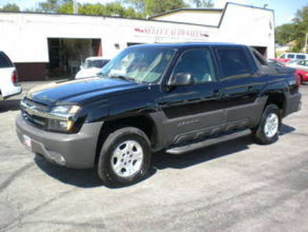 2003 Chevrolet Avalanche 1500 4X4 Z-71 for Sale  - 9891  - Select Auto Sales