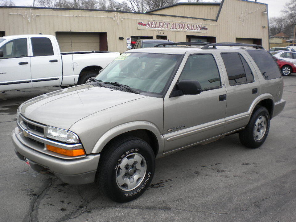 2002 Chevrolet Blazer  - Select Auto Sales