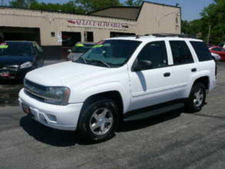 2006 Chevrolet TrailBlazer 4X4 LS for Sale  - 9855  - Select Auto Sales