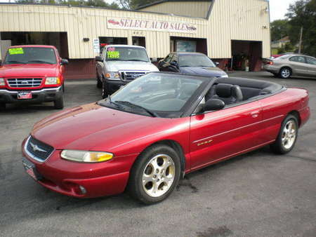 1999 Chrysler Sebring JXI for Sale  - 9914  - Select Auto Sales
