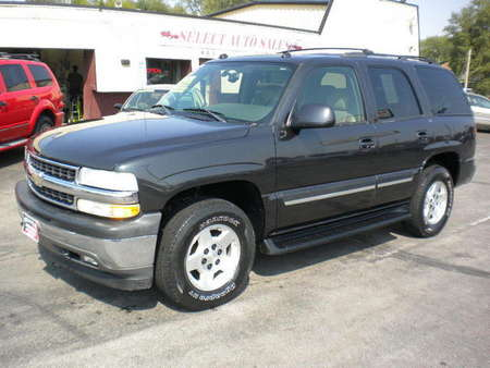 2005 Chevrolet Tahoe LT 4x4 for Sale  - 9907  - Select Auto Sales