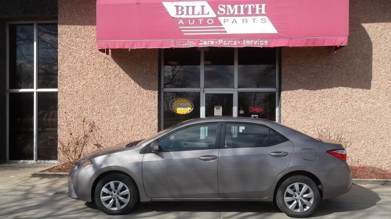 2016 Toyota Corolla  - Bill Smith Auto Parts