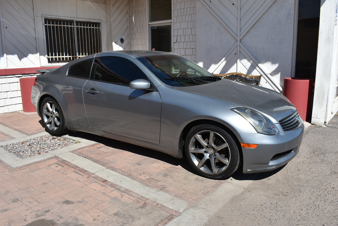 2003 Infiniti G35 Coupe >> 2003 Infiniti G35 Coupe W Leather Stock 18250 Phoenix Az 85008