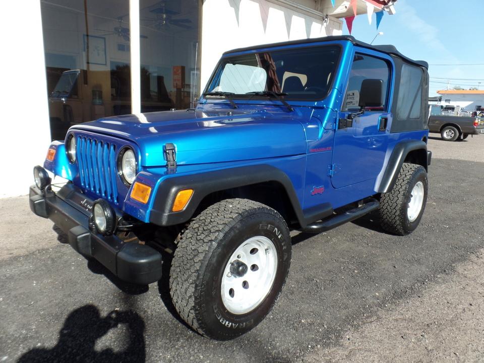 2002 Jeep Wrangler  - Dynamite Auto Sales