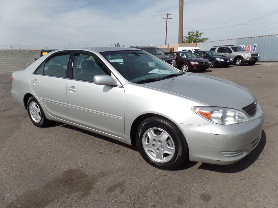 2002 Toyota Camry  - Dynamite Auto Sales