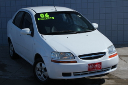 2006 Chevrolet Aveo LS for Sale  - MA2450B  - C & S Car Company