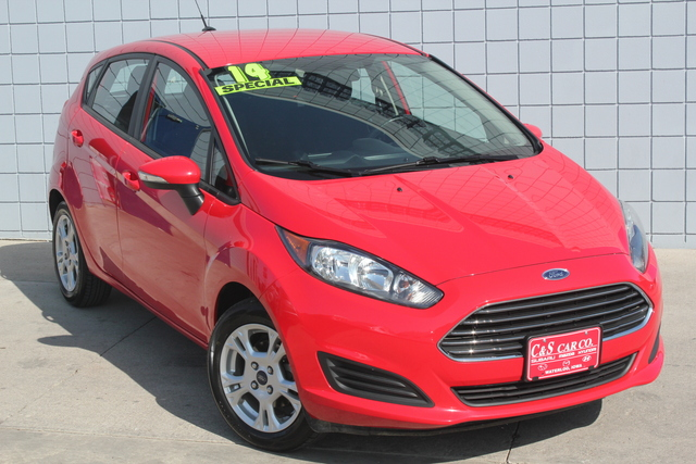 2014 ford fiesta se hatchback stock ma2510a waterloo ia 50702. Black Bedroom Furniture Sets. Home Design Ideas