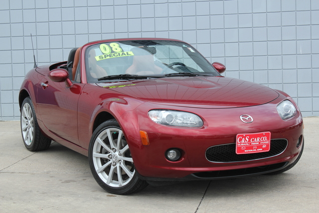2008 mazda mx 5 miata grand touring w retractable hardtop stock ma2922a2 waterloo ia. Black Bedroom Furniture Sets. Home Design Ideas